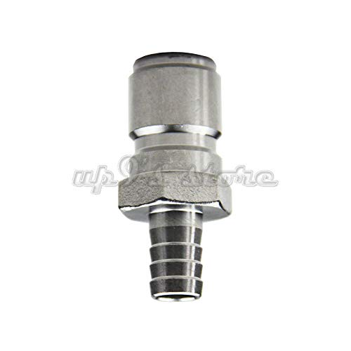 FidgetGear 304 Stainless Steel Quick Disconnect Set Home Brew Fitting Connector Homebrewing QD Male 3/8 Brab from FidgetGear