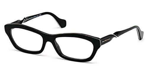 Balenciaga - BA5039, Cat Eye, acetate, women, BLACK(001 B), 55/16/140