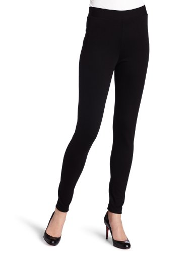 Vince Camuto Women's Ponte Legging, Rich black, Medium from VINCE CAMUTO