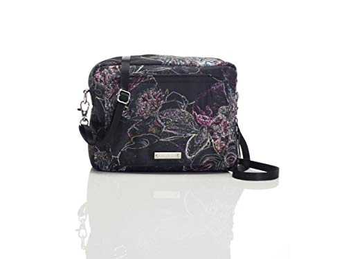 Storksak Storksak Mini- Fix Crossbody Clutch Diaper Bag, Neon Floral, No ()