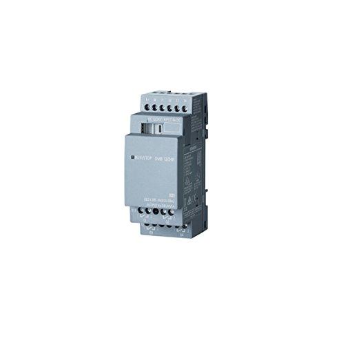 Siemens 6ED1 055-1MB00-0BA2 LOGO! DM8 12/24R, EXP. MODULE PU/I/O: 12, 24V/12V/24V/RELAIS, 2TE, 4 DI/4 DO FOR LOGO! 8