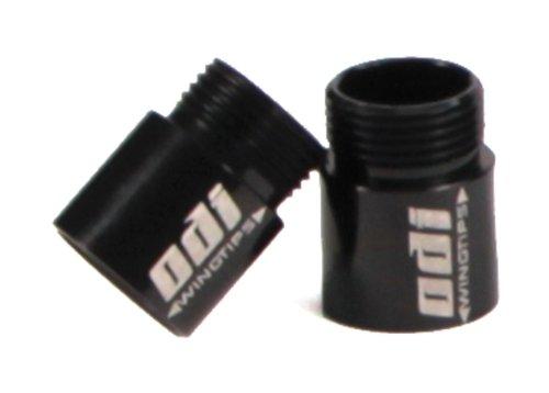 ODI Flight Control Wingtips, 12.5mm - black, pr