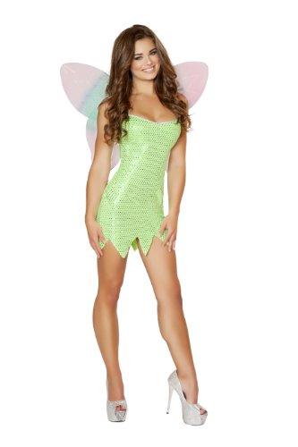 [Roma Costume Women's 2 piece Playful Pixie, Green, Small/Medium] (Pixies Costumes)