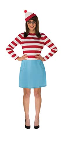 (Rubie's Women's Standard Where's Waldo Wenda Costume, As Shown,)