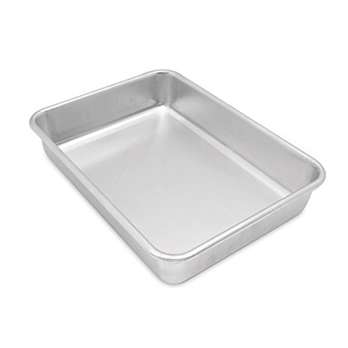 Commercial Brownie Pan (Nordic Ware Natural Aluminum Commercial Rectangular Cake Pan)