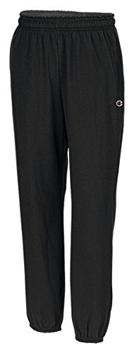 Champion Authentic Men's Closed Bottom Jersey Pants_Black_Medium