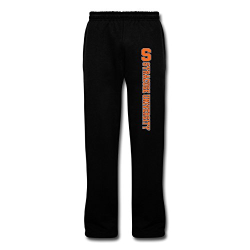Men's Syracuse University Cotton Geek Bottom Fleece Sweatpants - Destiny Syracuse