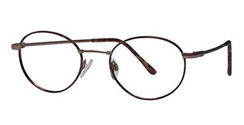 Flexon Autoflex 53 Eyeglasses 215 Tortoise/Bronze Demo 48 19 - Flexon Eyeglasses