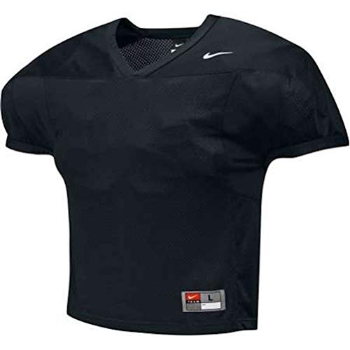 Nike Mens Velocity 2.0 Practice Football Jersey Black ()