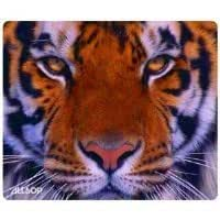 Allsop Nature's Smart Mouse Pad Tiger 60 % Recycled Content, Anti-Microbial (30188)