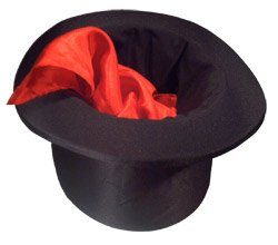 Empire Magic Folding Top Hat -
