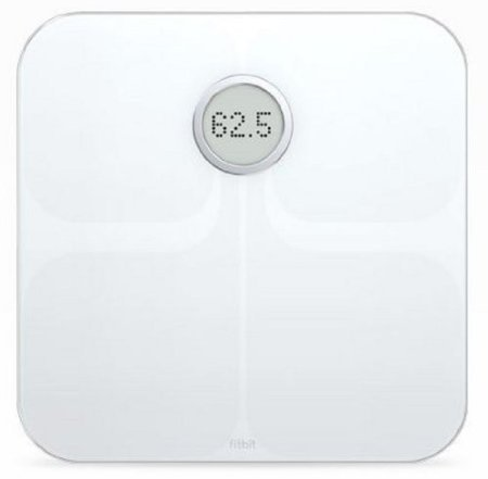 Fitbit Aria Wifi Scale with Body Fat % and BMI - Color White Excellent Gift for Special Day Fast Shipping Ship Worldwide by fit bit