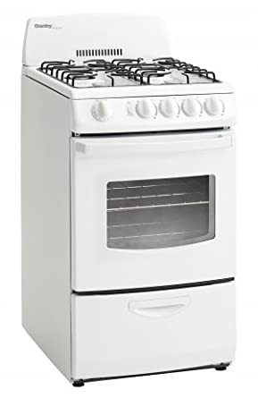 20 In. Wide Gas Range With 2.4 Cu. Ft. Oven With Window And