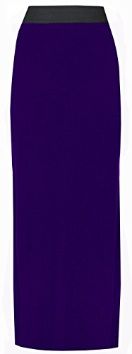 Violet jersey jupe Longue online en asfashion nv8U0Uzx