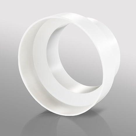 Blauberg Reino Unido Decor 185/x 185//150S blanco 150/mm 15,24/cm conductos redondos de pl/ástico y accesorios para ventilador Extractor ventilaci/ón/ /blanco