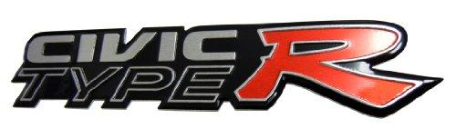 CIVIC TYPE R Emblem Racing Badge for Honda Civic EG EK K6 K8 CRX DC2 DC5 SI RSX JDM