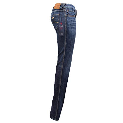 Armani Blu 6724y Fit Denim Blue J40 Trouser Donna Skinny Woman Jeans 11Zwqr