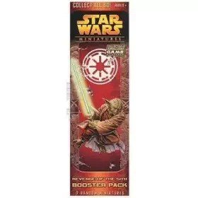 Star Wars CMG Miniatures Game Revenge of the Sith Booster Pack - Sith Star Wars Miniatures
