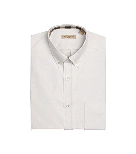 più foto 144b4 b18f6 Burberry Camicia Bianca Oxford: Amazon.it: Abbigliamento