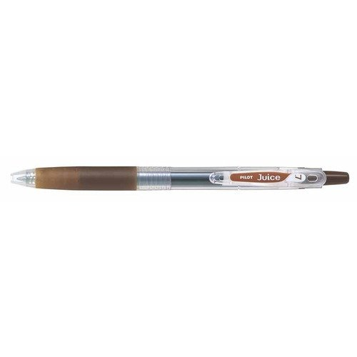 Pilot Juice 0.7mm Gel Ink Ballpoint Pen, Coffee Brown (LJU-10F-CB)