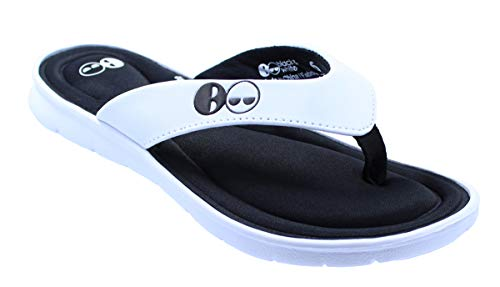 Women's Memory Foam Thong Flip Flop Sandals (9 US)