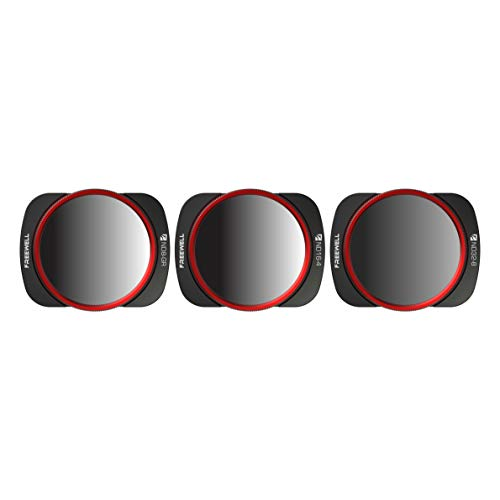 Freewell Landscape Gradient ND Camera Lens Filters - 4K Series - 3Pack ND8-Gr, ND16-4, ND32-8 Compatible with DJI Osmo Pocket