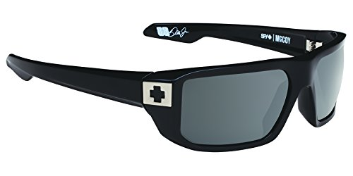 Spy Optic Mccoy Sunglasses,Black Frame/Grey Lens,One (Spy Optic Metal)