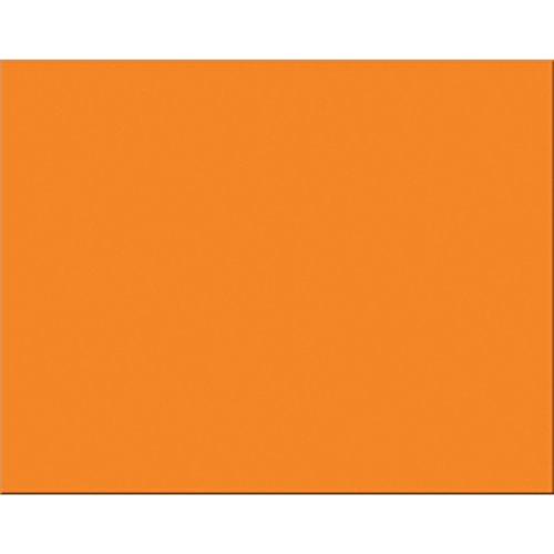 Peacock 6-Ply Railroad Board, 22''X28'', Orange, 25 Sheets