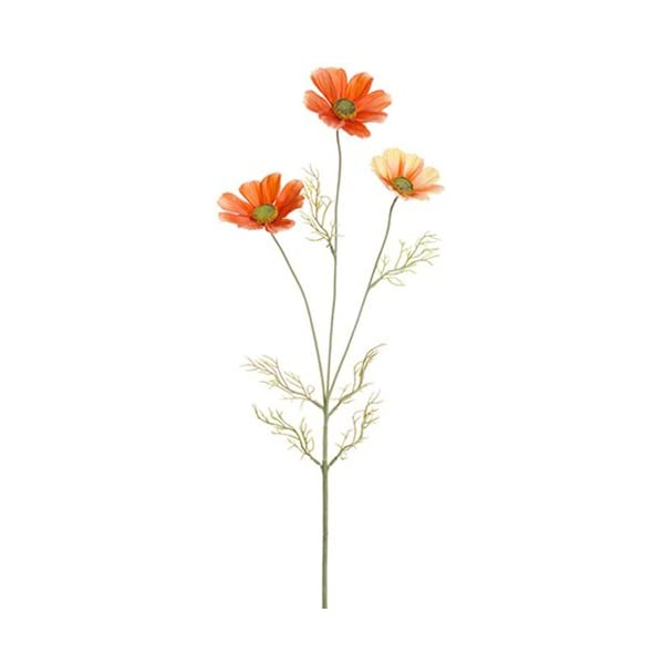 30″ Silk Cosmos Flower Spray -Sunset (Pack of 12)