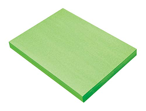 Construction Paper 9x12 Light - SunWorks Construction Paper, Light Green,  9