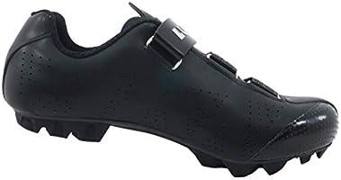 LUCK Zapatillas de Ciclismo MTB ODÍN con Suela de Carbono y Cierre milimétrico de precisión. (40 EU, Negro): Amazon.es: Deportes y aire libre
