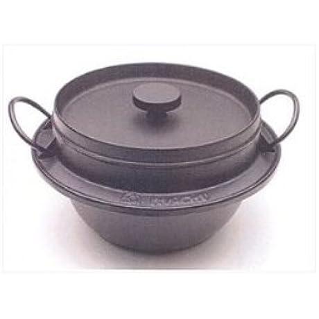 Japanese Iwachu Gohan Nabe Cast Iron Rice Cooker 5Go 410719