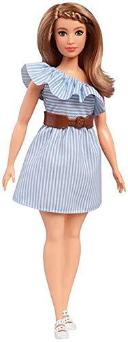 Boneca Barbie Fashionistas N76 Purely Pinstriped Curvy - FBR37 - Mattel