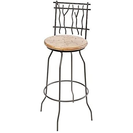 Sassafras Swivel Barstool 25 In Prem Faux Leather In Outback Ebony 205747 OG 69926 O 281279 OG 142857 O 759889