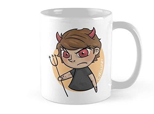 - Army Mug Angel & Devil Mug - 11oz Mug - Features wraparound prints - Dishwasher safe - Made from Ceramic - Best gift for family friends