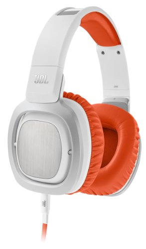 JBL J88 Premium Over-Ear Headphones with JBL Drivers and Rotatable Ear-Cups – Orange