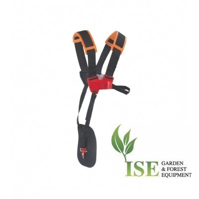 ISE Brush Cutter Double Shoulder Strap with Waist Pad. Tecomec Number 51509001