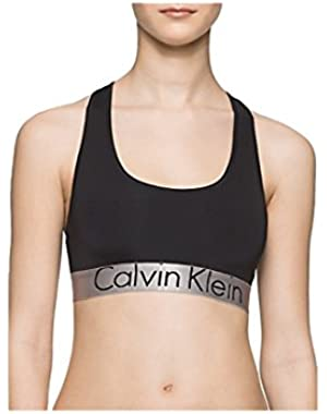 Women's Steel Microfiber Bralette Underwear