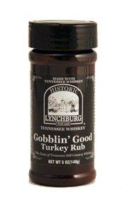 Historic Lynchburg Tennessee Whiskey Gobblin Good Turkey Rub 5 Oz. - Turkey Rub