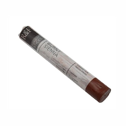 Sienna Pigment - R&F Pigment Sticks, 38ml, Burnt Sienna