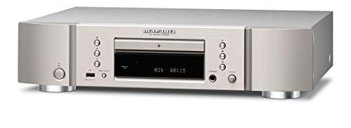 Marantz CD6007 CD-Speler, Nauwkeurig Afgestelde CD-Speler met USB-Poort, Hoge Resolutie D/A Conversie, Maximaal 192-kHz…