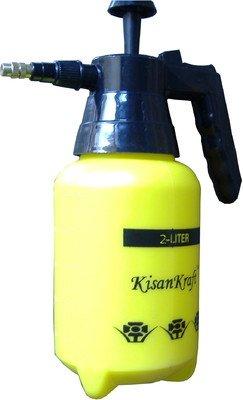 VGreen 2 Ltr Yellow Pressure Sprayer With Free Wasers (Kisan Kraft)