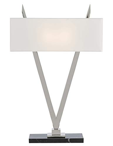 Currey & Company Lighting Willemstad Nickel Table Lamp ()