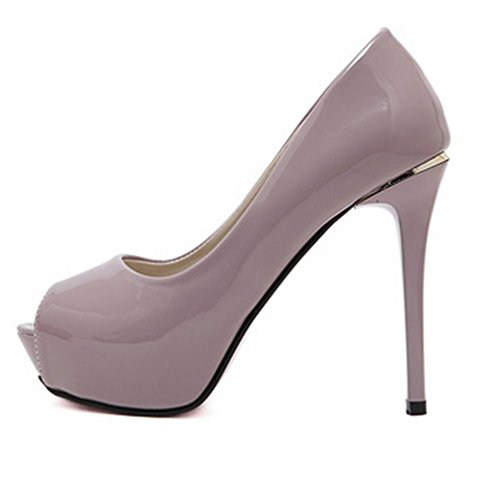 Unknown 1to9mmsg00217 - Ballerines Pour Femmes, Violet (violet), 35
