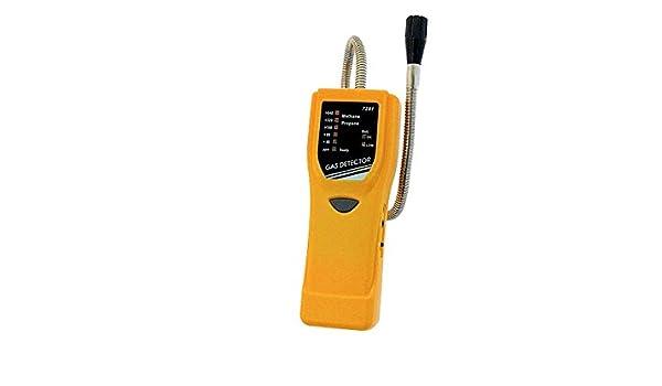 VZ7291 Detector de fugas de Gas Combustible GLP LAG CH4 metano Butano Gas inflamable: Amazon.es: Industria, empresas y ciencia