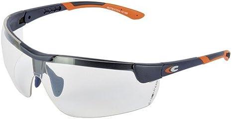 Gafas Cofra Rotexten transparente, anti-fog, anti-scratch, UV400