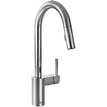 Moen Arbor Motionsense Two Sensor Touchless One Handle High Arc