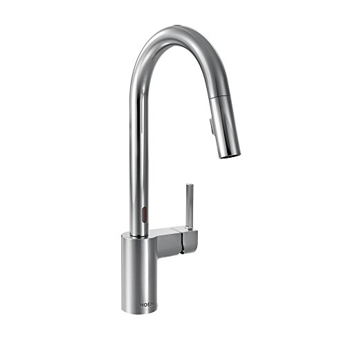 moen kitchen faucet motion - 6