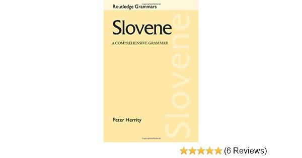 A Comprehensive Grammar Slovene