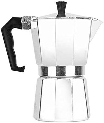 FGHSD cafetera Romántico Corazón Rojo Kit de Cafetera de Aleación de Aluminio Percolator 150ml: Amazon.es: Hogar